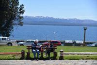 Miércoles con cielo algo nublado y 24 grados de máxima en Bariloche