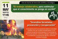 """CONICET invita a la charla: """"Incendios forestales: prevención y recuperación"""""""