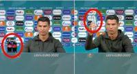 Ronaldo regatea dentro y fuera del campo