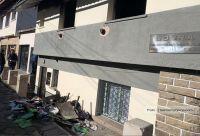 Un departamento sobre la sede de la UOCRA sufrió un principio de incendio