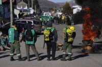 Brigadistas del SPLIF cortaron Onelli y piden soluciones ante la emergencia hídrica
