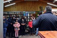 Reabrieron la Biblioteca Municipal y homenajearon a Eduardo Ehlers