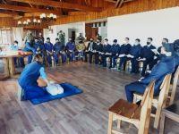 Protección Civil sigue con sus capacitaciones en RCP y Primeros Auxilios