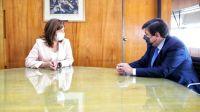Carreras y el ministro Moroni analizaron temáticas vinculadas al empleo rionegrino