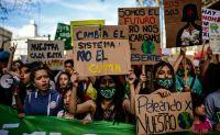 Realizan actividades en el marco de la Huelga Global por el Clima