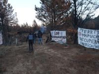 Encapuchadas volvieron a ingresar a un campo en Cuesta del Ternero y agredieron al personal policial