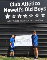 Experiencia positiva para dos futbolistas dinahuapenses en Rosario