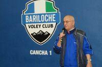 "El gimnasio del Bariloche Vóley Club lleva el nombre del ""Profe Bertino"""