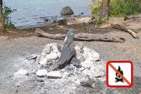 Recomiendan hacer un uso responsable del fuego en zonas habilitadas