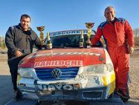 Pilotos locales corrieron la doble fecha del Rally Neuquino