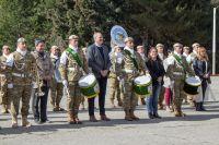 En un emotivo acto, entregaron el Premio al Mérito a la Banda de la Escuela Militar de Montaña