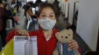 Provincia convoca a continuar registrando a menores de 3 a 11 años para vacunarse