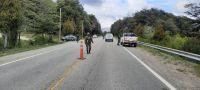 El Ministerio de Seguridad de la Nación difundió imágenes de la llegada de las fuerzas federales a la Zona Andina