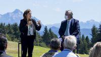 Fernández y Carreras dialogaron sobre el conflicto en la Zona Andina