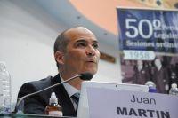 Juan Martin pide que no se prorrogue la ley que impide desalojar tierras usurpadas
