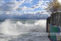 Fuertes vientos y cierre de senderos en Bariloche
